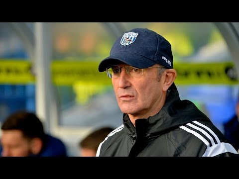 Tony Pulis speaks after the 2-1 FA Cup fourth-round win at Birmingham City