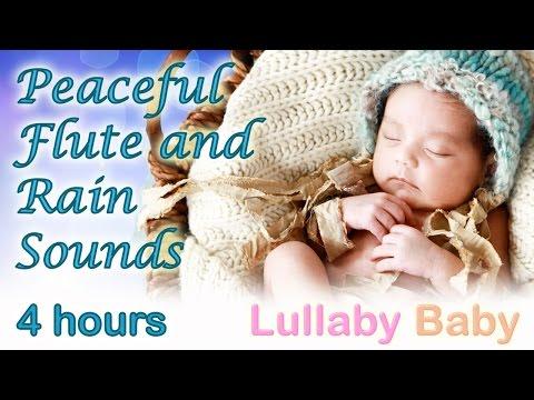 ✰ 4 Hours ✰ Native American Flute rain Dance ✰ Relaxing Baby Sleep Music ✰ Lullaby Rain Sounds video