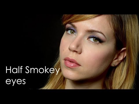 Half Smokey eyes | Mezzo smokey eyes