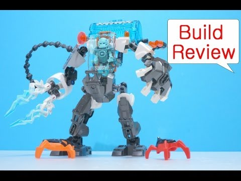 Lego Hero Factory 44017 Stormer Freeze Machine - Build Review