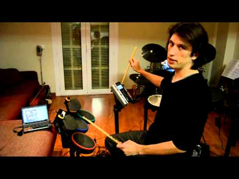 Guitar Hero Wii Midi Drum