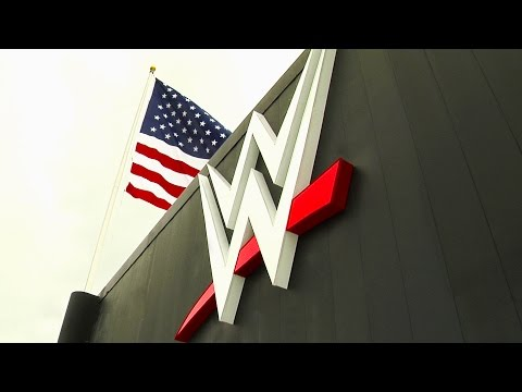 Wwe Headquarters Has A Fresh Look With The Arrival Of The New Wwe Logo: August 18, 2014 video
