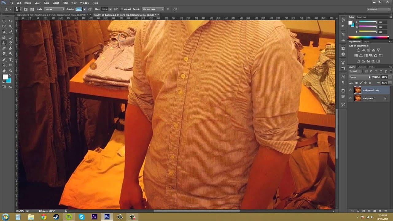 Инструмент штамп фотошопе cs6