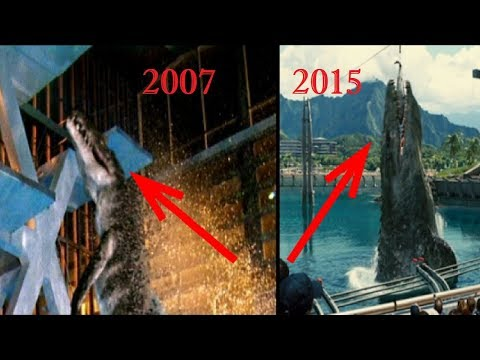 TOP 10 THINGS JURASSIC WORLD RIPPED OFF FROM PRIMEVAL!