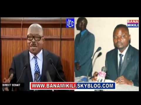 Rejet du vote Boshab au sénat: rien n'est acquis affirme Emery Okundji qui appelle à la vigilance