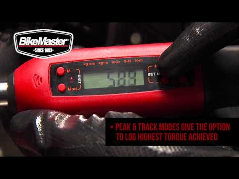 BikeMaster Digital Torque Wrench