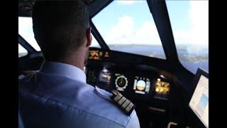 Décollage en avion de ligne de St Martin (Antilles)