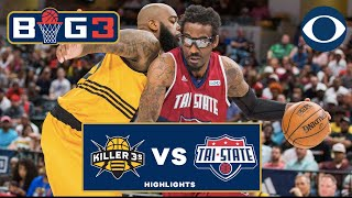 Killer 3s SHOCK Tri-State, Game-winner, Amar'e Stoudemire DOMINANT | BIG 3 on CBS
