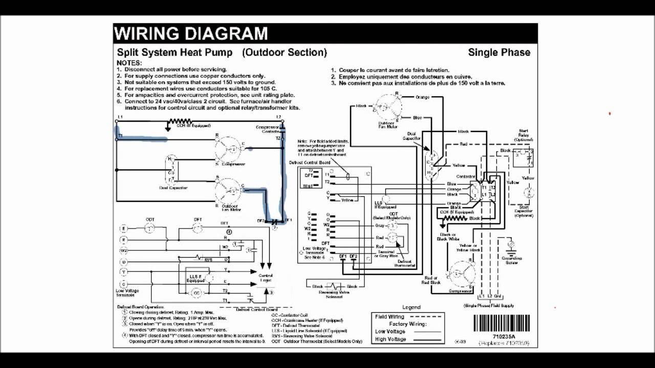 heat pump wiring diagram explanation