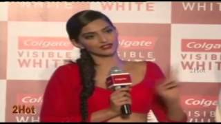 Sonam's Hot Cleavage & Navel Show In Tight Choli