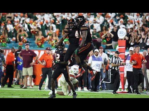 Miami Hurricanes Highlights vs Virginia Tech