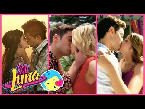 ¡TODOS Los Besos de Soy Luna 1, 2 y 3!