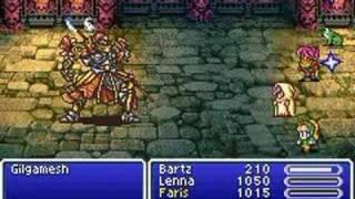 Final Fantasy V Advance - Gilgamesh #4
