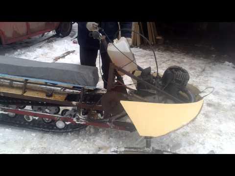 Коньки для снегохода своими руками