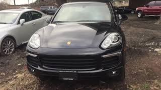 Porsche Cayenne export from USA 🇺🇸