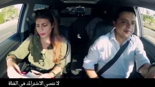 شاهد محمد هنيدى وهو سواق تاكسي - ضحك للركب