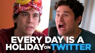 Every Day is a Holiday on Twitter