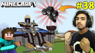 CAN I SAVE MY CASTLE FROM WITHER ? | MINECRAFT GAMEPLAY #38