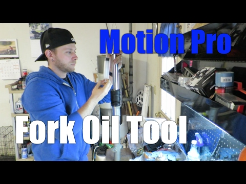 Motion Pro Fork Oil Tool Review