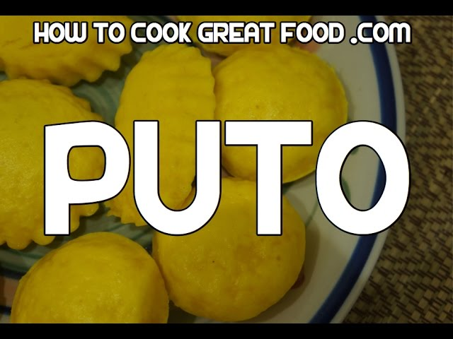 Puto Recipe Video Tagalog Pinoy Filipino