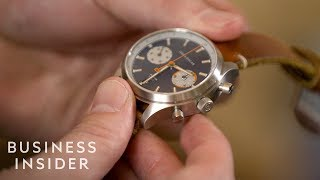 How This Watch Company Combines Craftsmanship And A Love Of Bourbon