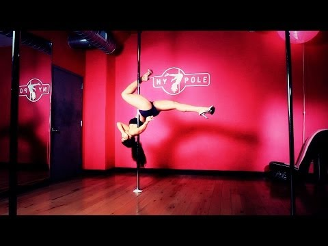 How To Do A Uspdf Amateur Inversion | Pole Dancing video