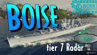 USS BOISE T7 Premium Radar Cruiser || World of Warships