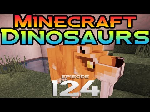 Minecraft Dinosaurs! - Episode 124 - Smilodon for the Camera