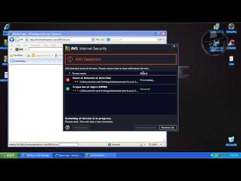 AVG Internet Security 2014 FINAL (Default settings) - Test with more links