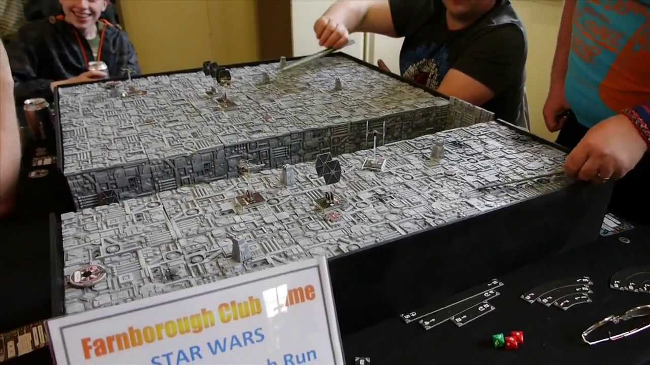 X Wing Miniatures Board Game Terrain Youtube
