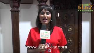 Swathi Naidu At Aval Korikkai Movie Shooting Spot