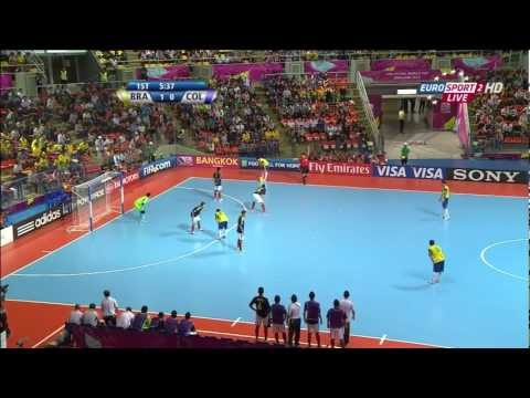Brazil vs Colombia - FIFA Futsal World Cup 2012 - 1/2 finals Music Videos