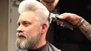 MODERN POMPADOUR  hairstyle & Medium length Men´s hairstyle inspiration