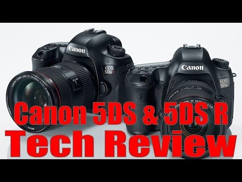 Canon 5DS & 5DS-R Technical Review