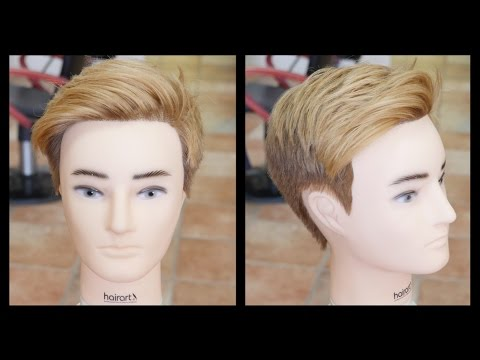 Fernando Torres 2015 Haircut & Hair Color Tutorial - TheSalonGuy