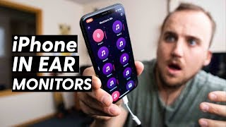 HOW TO SET UP WIRELESS IN-EAR MONITORS ON AN IPHONE