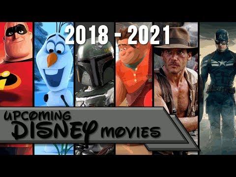 Upcoming Disney Movies 2018 - 2021