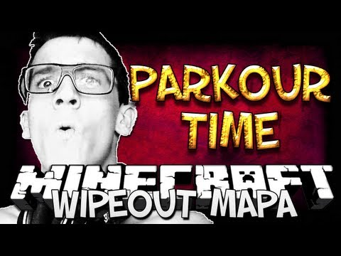 MINECRAFT MAPA - WIPEOUT - Parkour time!