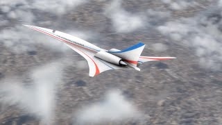 NASA Quiet Supersonic X-plane