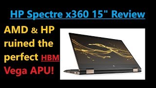 HP Spectre x360 & Vega M Review: Murdering the best APU on Earth!