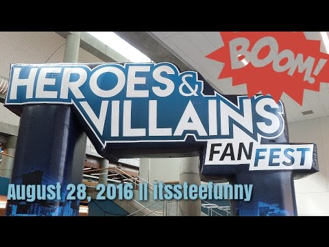 download lagu Heroes And Villains Fan Fest 2016  Itssteefunny gratis