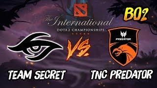 Team Secret vs TNC Predator ► The International Dota 2 2019 ( TI9 Day 3 ) 😎 | dota 2