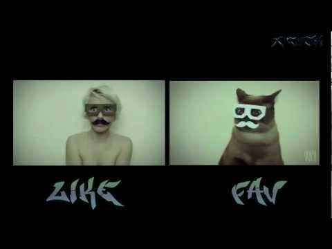 Dubstep Hipster Cat Vs Dubstep Hipster Girl