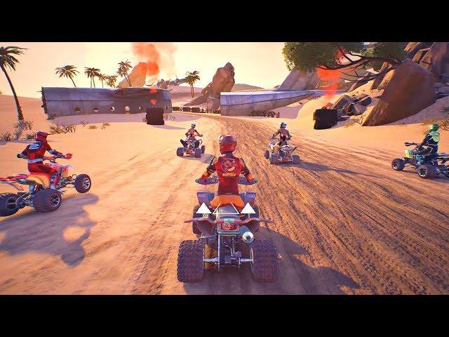 Руководство запуска: ATV Drift & Tricks по сети