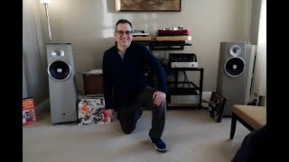 Meet Jeff, he has Zu speakers, a PrimaLuna pre, First Watt J2 amp... #audiophile