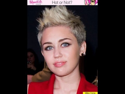 Miley Cyrus Haircut Tutorial Women's Haircut