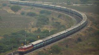 Long Train : Howrah Hyderabad East Coast Express.