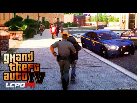 GTA IV gameplay- State Trooper - Can't wait for GTA 5