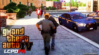 GTA IV gameplay- NEW YORK State Trooper UNCUT- Can't wait for GTA 5