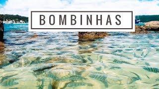 Diário de Viagem: Um dia em Bombinhas - SC // Praia, passeio de barco e mais | Caroline Seguineli